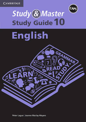 Picture of CAPS Study and Master Study Guides: Study & Master English Study Guide Grade 10