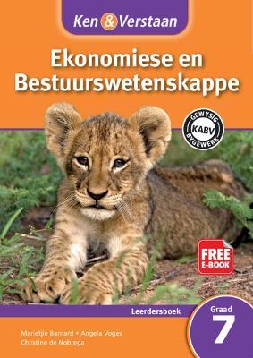 Picture of CAPS Economic and Management Sciences: Ken & Verstaan Ekonomiese en Bestuurwetenskappe Leerdersboek Graad 7