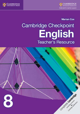 Picture of Cambridge Checkpoint English Teacher's Resource 8