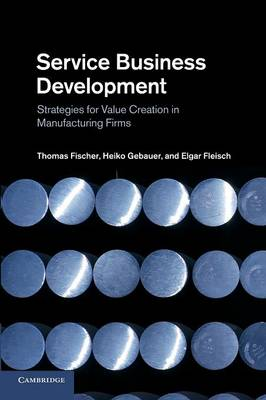 Service Business Development : Strategies for Value Creation in Manufacturing Firms