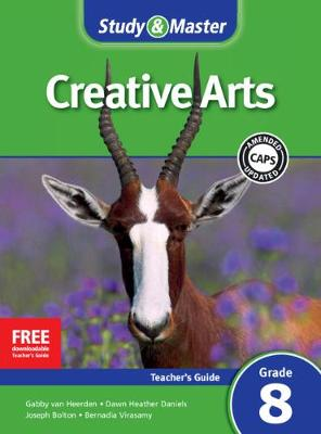 Picture of CAPS Creative Arts: Study & Master Creative Arts Teacher's Guide Teacher's Guide