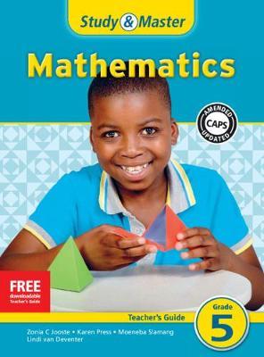 Picture of CAPS Mathematics: Study & Master Mathematics Teacher's Guide Grade 5