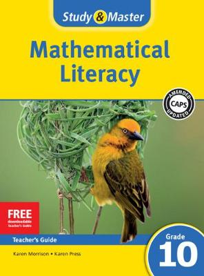 Picture of Study & Master Mathematical Literacy Teacher's Guide Grade 10