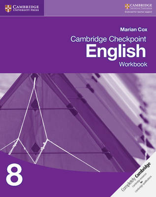 Picture of Cambridge Checkpoint English Workbook 8