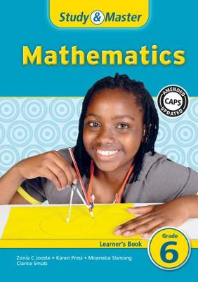 Picture of CAPS Mathematics: Study & Master Mathematics Learner's Book Grade 6