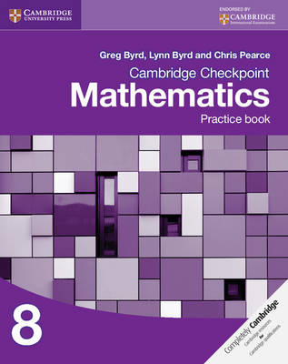 Picture of Cambridge Checkpoint Mathematics Practice Book 8