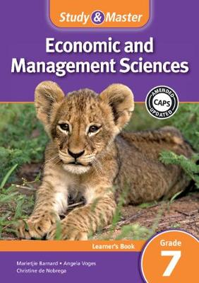 Study & Master Economic and Management Sciences Learner's Book Grade 7 Learner's Book