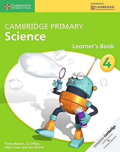 Picture of Cambridge Primary Science: Cambridge Primary Science Stage 4 Learner's Book