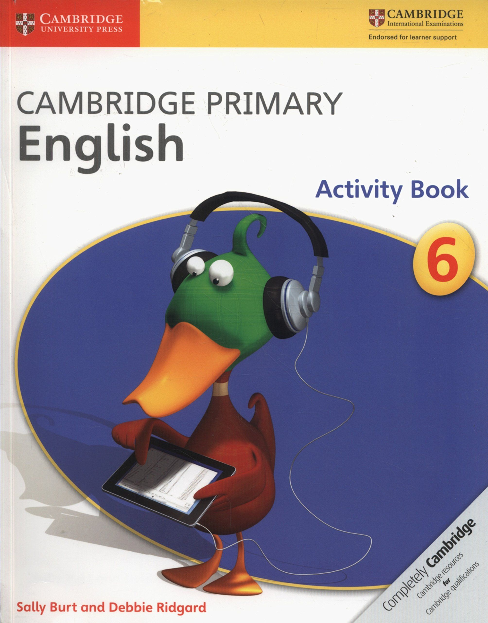Picture of Cambridge Primary English: Cambridge Primary English Stage 6 Activity Book