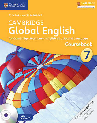 Picture of Cambridge Global English Stage 7 Coursebook with Audio CD