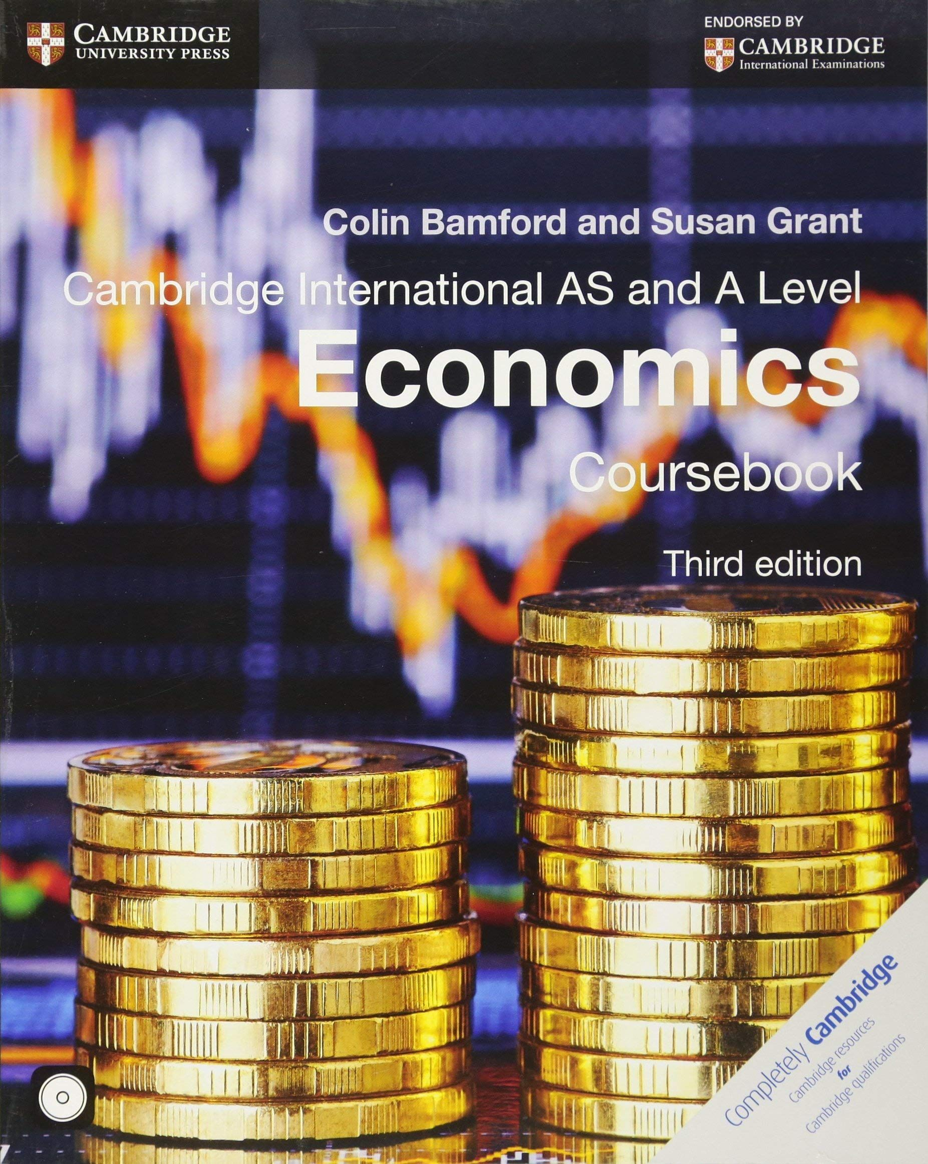 Picture of Cambridge International AS and A Level Economics Coursebook with CD-ROM