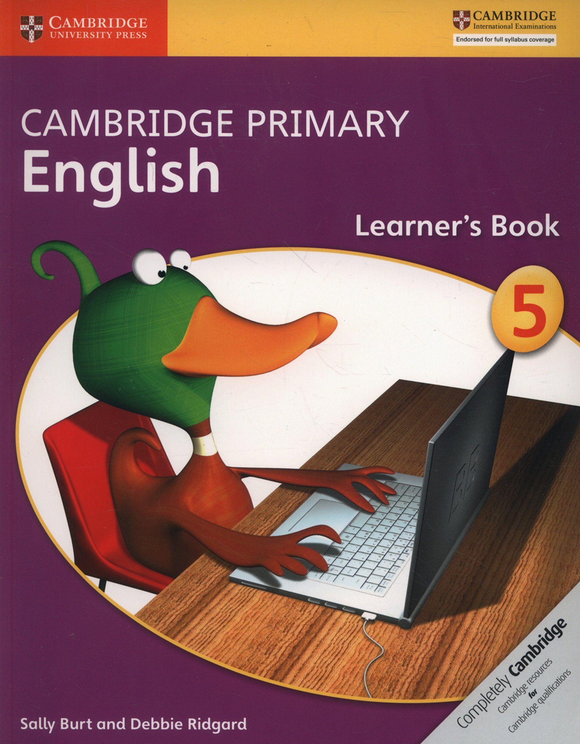 Picture of Cambridge Primary English: Cambridge Primary English Stage 5 Learner's Book