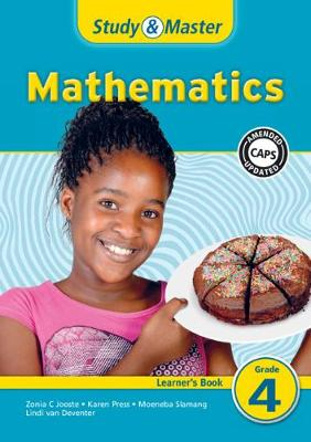 Picture of CAPS Mathematics: Study & Master Mathematics Learner's Book Grade 4