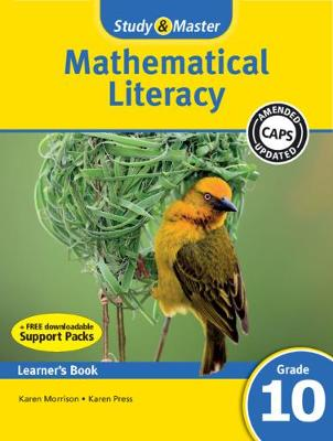Picture of Study & Master Mathematical Literacy Learner's Book Grade 10 Learner's Book