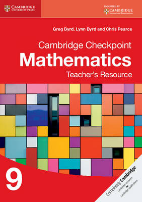 Picture of Cambridge Checkpoint Mathematics Teacher's Resource 9