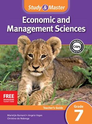 Picture of CAPS Economic and Management Sciences: Study and Master Economic and Business Management Grade 7 for CAPS Teacher's Guide