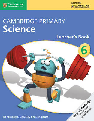 Picture of Cambridge Primary Science: Cambridge Primary Science Stage 6 Learner's Book