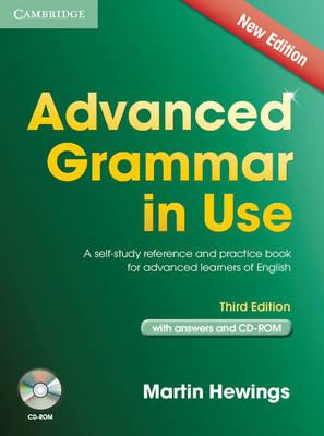 Picture of Advanced Grammar in Use Book with Answers and CD-ROM : A Self-Study Reference and Practice Book for Advanced Learners of English