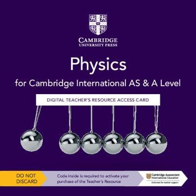 Picture of Cambridge International AS & A Level Physics Digital Teacher's Resource Access Card