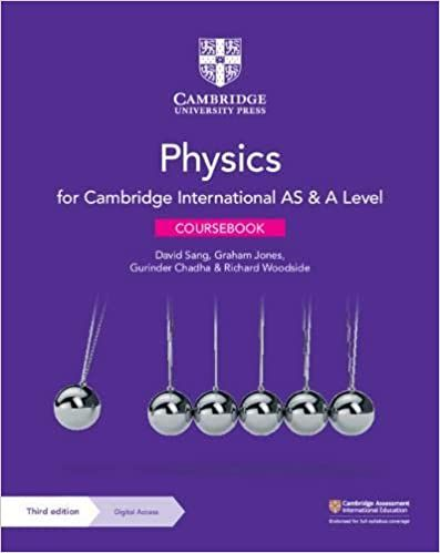 Picture of Cambridge International AS & A Level Physics Coursebook with Digital Access (2 Years)