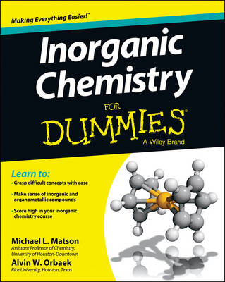 Picture of Inorganic Chemistry For Dummies