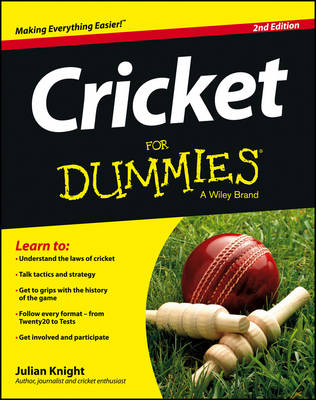 Picture of Cricket For Dummies