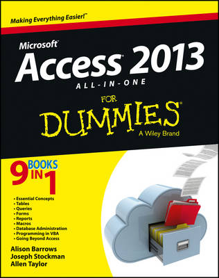 Picture of Access 2013 All-in-One For Dummies