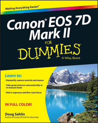 Picture of Canon EOS 7D Mark II For Dummies