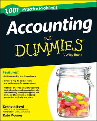 Picture of 1,001 Accounting Practice Problems For Dummies