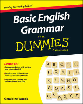 Picture of Basic English Grammar For Dummies - US