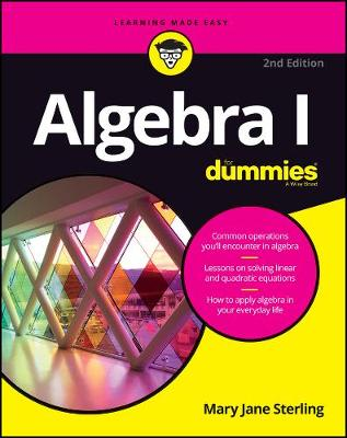 Picture of Algebra I For Dummies