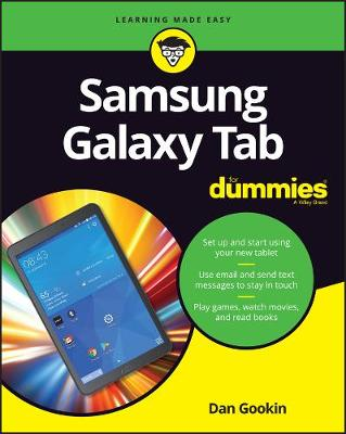 Picture of Samsung Galaxy Tabs For Dummies
