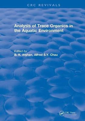 Picture of Revival: Analysis of Trace Organics in the Aquatic Environment (1989)