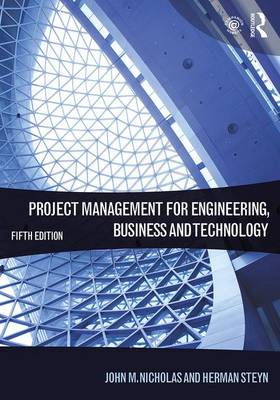 Picture of Project Management for Engineering, Business and Technology