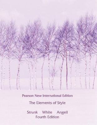 Picture of Elements of Style, The: Pearson New International Edition