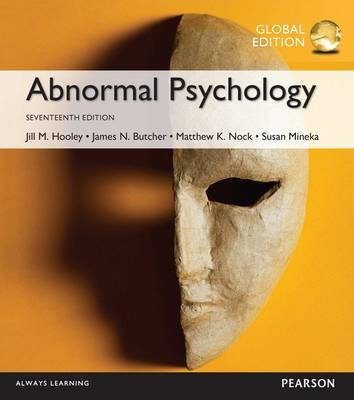 Picture of Abnormal Psychology, Global Edition
