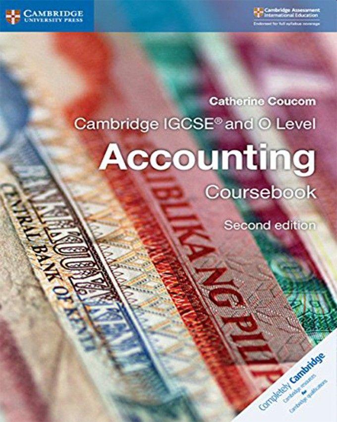 Picture of Cambridge International IGCSE: Cambridge IGCSE (R) and O Level Accounting Coursebook
