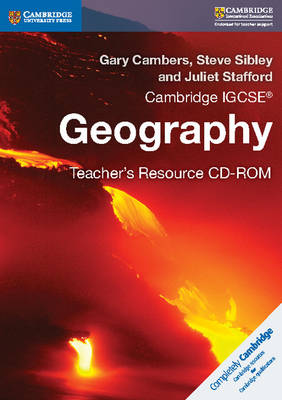 Picture of Cambridge IGCSE (R) Geography Teacher's Resource CD-ROM