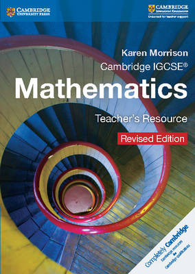 Picture of Cambridge IGCSE (R) Mathematics Teacher's Resource CD-ROM Revised Edition