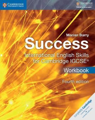Picture of Cambridge International IGCSE: Success International English Skills for Cambridge IGCSE (R) Workbook