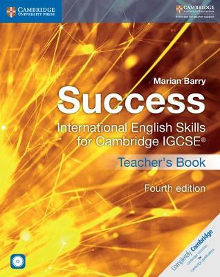 Picture of Success International English Skills for Cambridge IGCSE (R) Teacher's Book with Audio CDs (2)