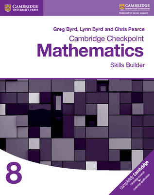 Picture of Cambridge Checkpoint Mathematics Skills Builder Workbook 8