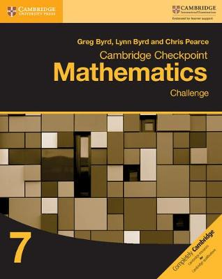 Picture of Cambridge Checkpoint Mathematics Challenge Workbook 7: Workbook 7