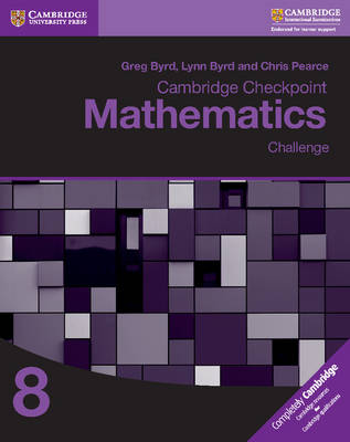 Picture of Cambridge Checkpoint Mathematics Challenge Workbook 8