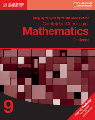 Picture of Cambridge Checkpoint Mathematics Challenge Workbook 9