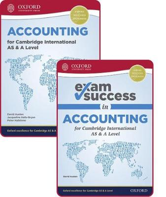 Picture of Accounting for Cambridge International AS and A Level: Student Book & Exam Success Guide Pack
