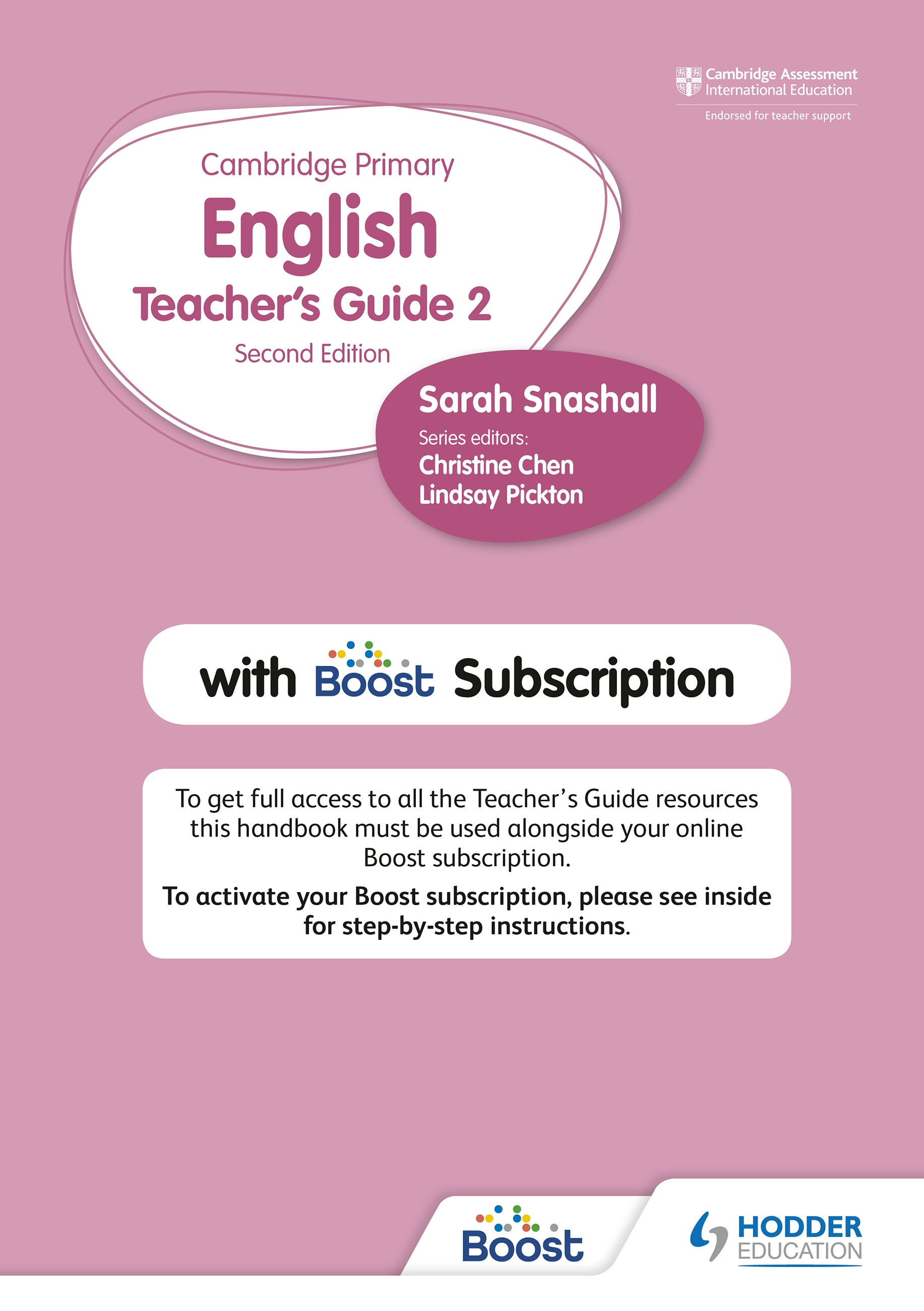 Cambridge Primary English Teacher's Guide Stage 2 with Boost Subscription