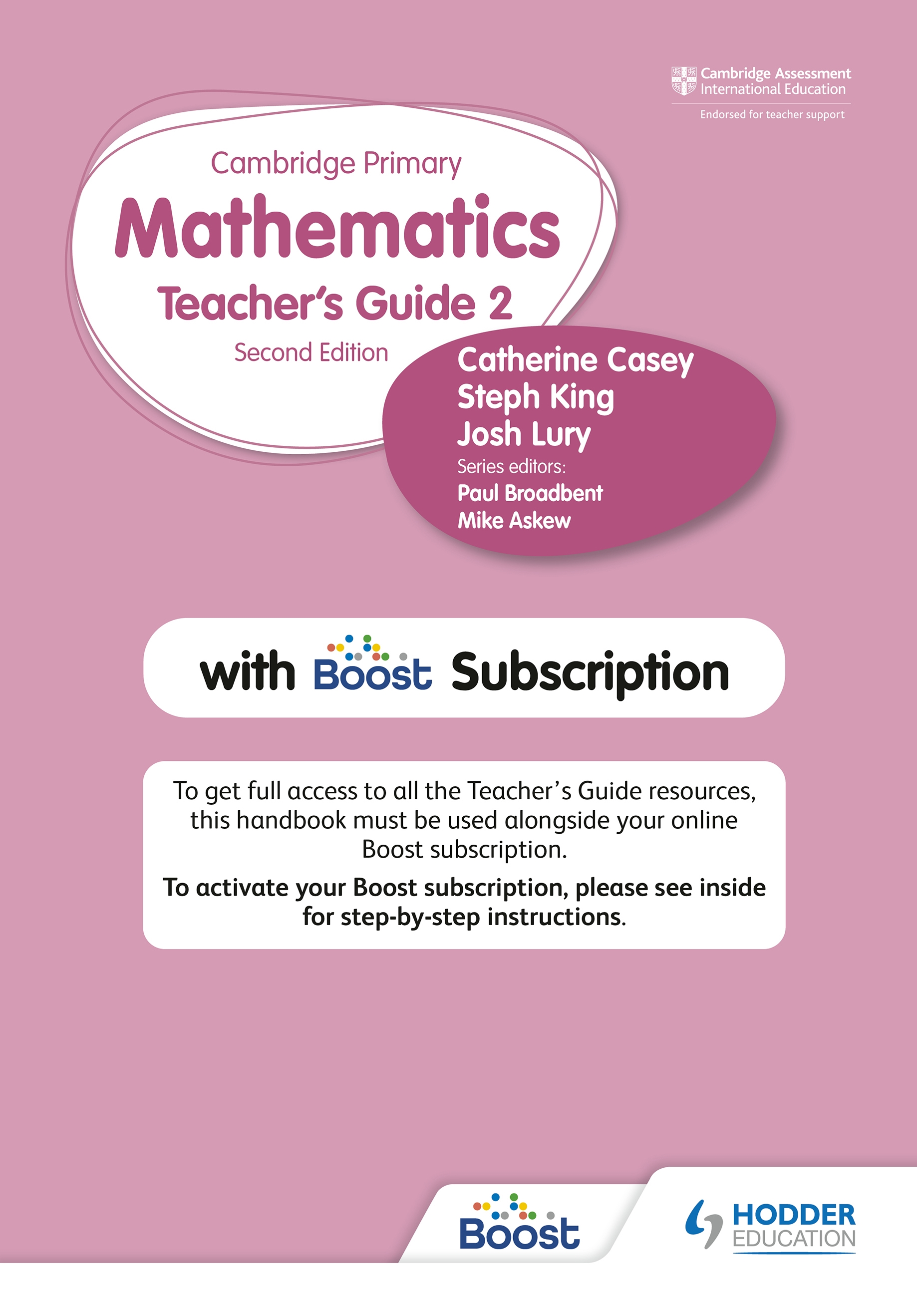 Cambridge Primary Mathematics Teacher's Guide 2 with Boost Subscription