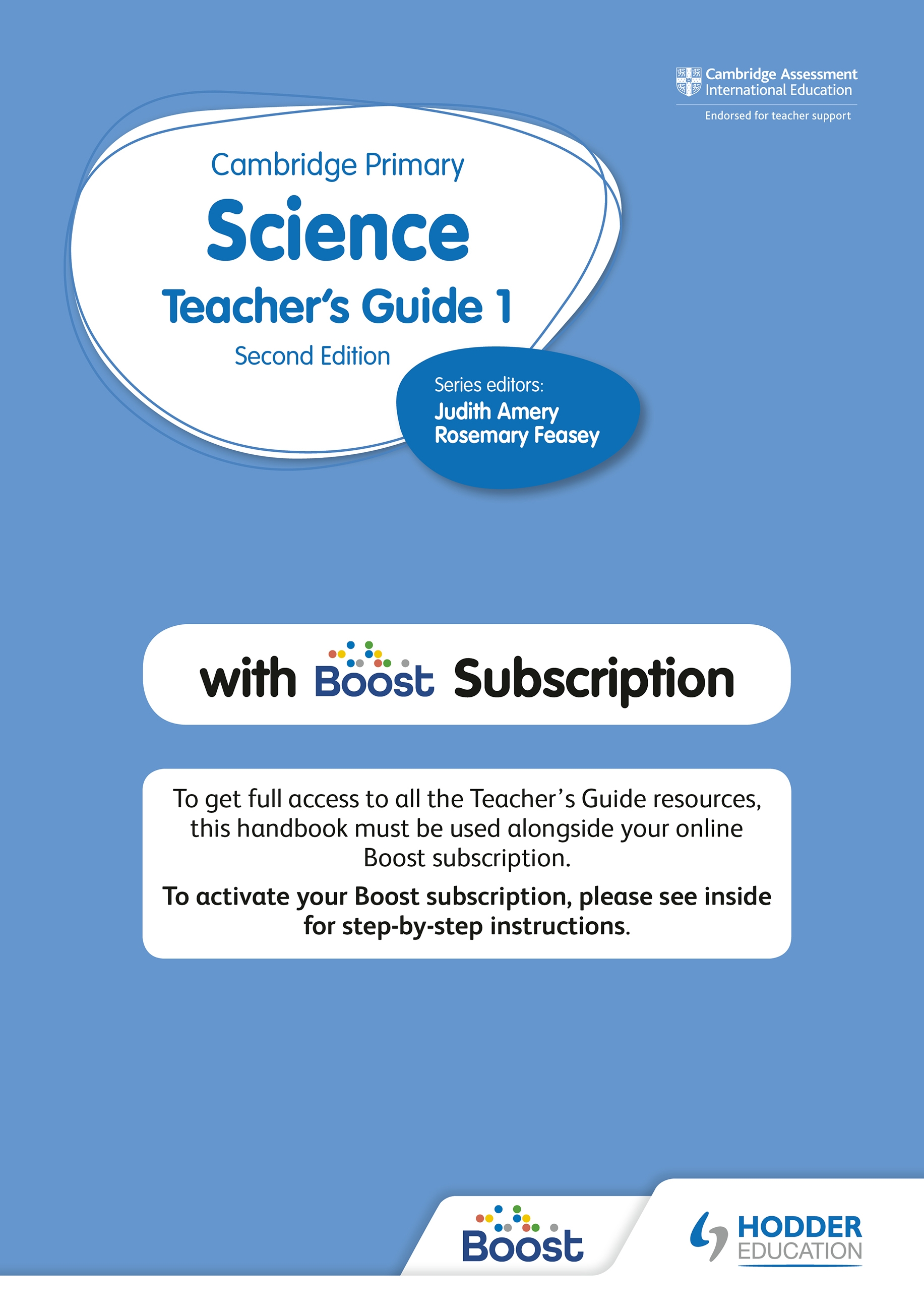 Cambridge Primary Science Teacher's Guide Stage 1 with Boost Subscription