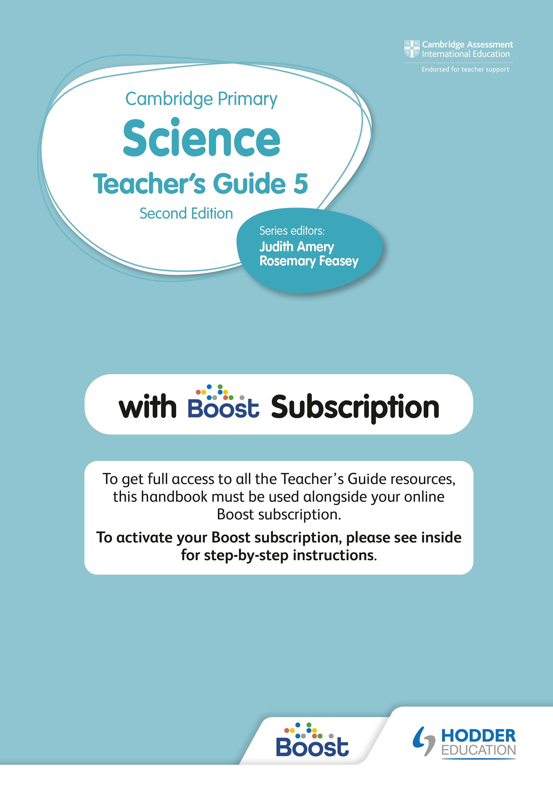 Cambridge Primary Science Teacher's Guide 5 with Boost Subscription